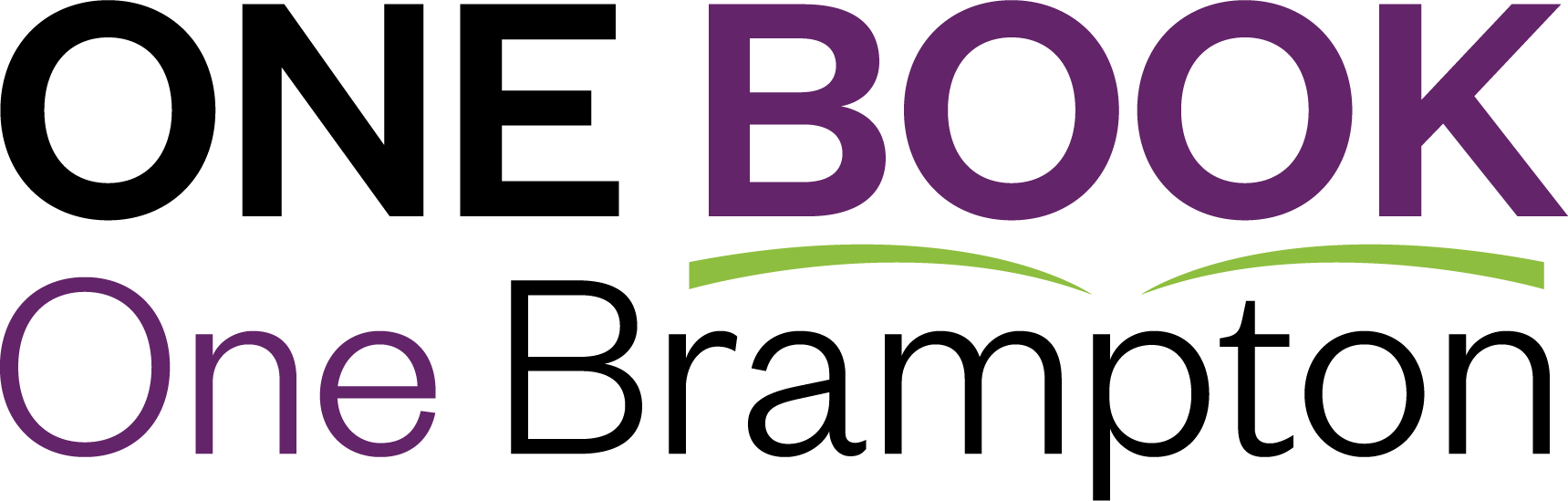 One Book One Brampton Logo