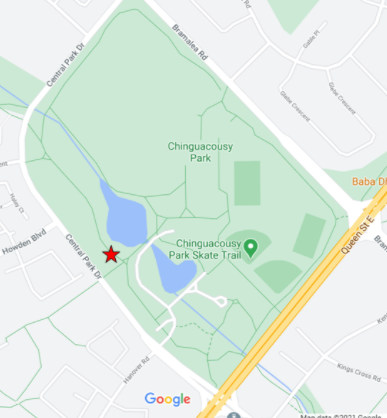 Map of Chinguacousy Park