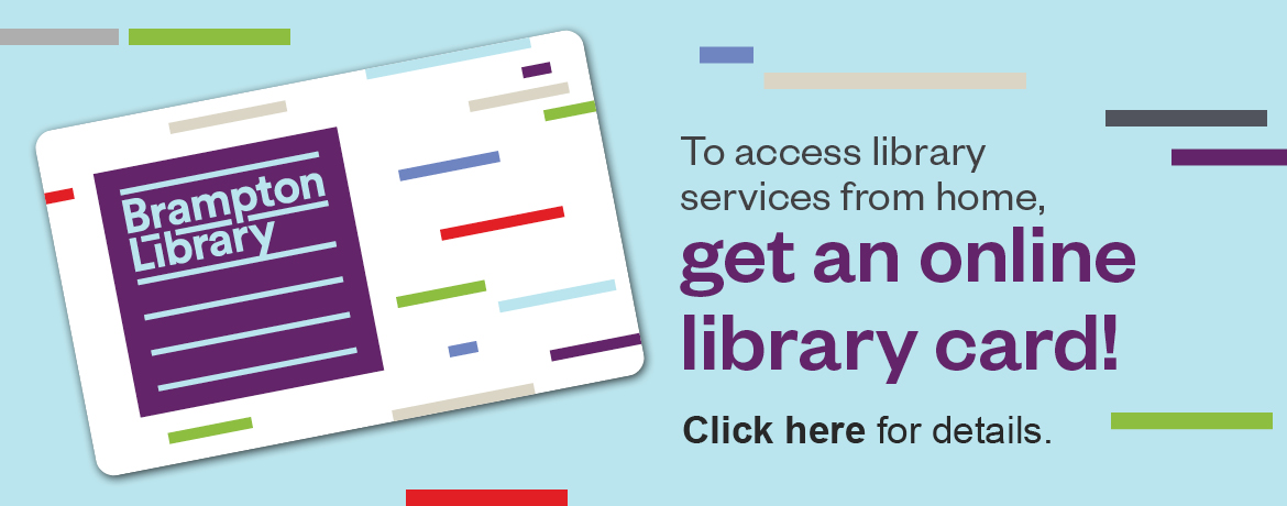 Get an Online Library Card