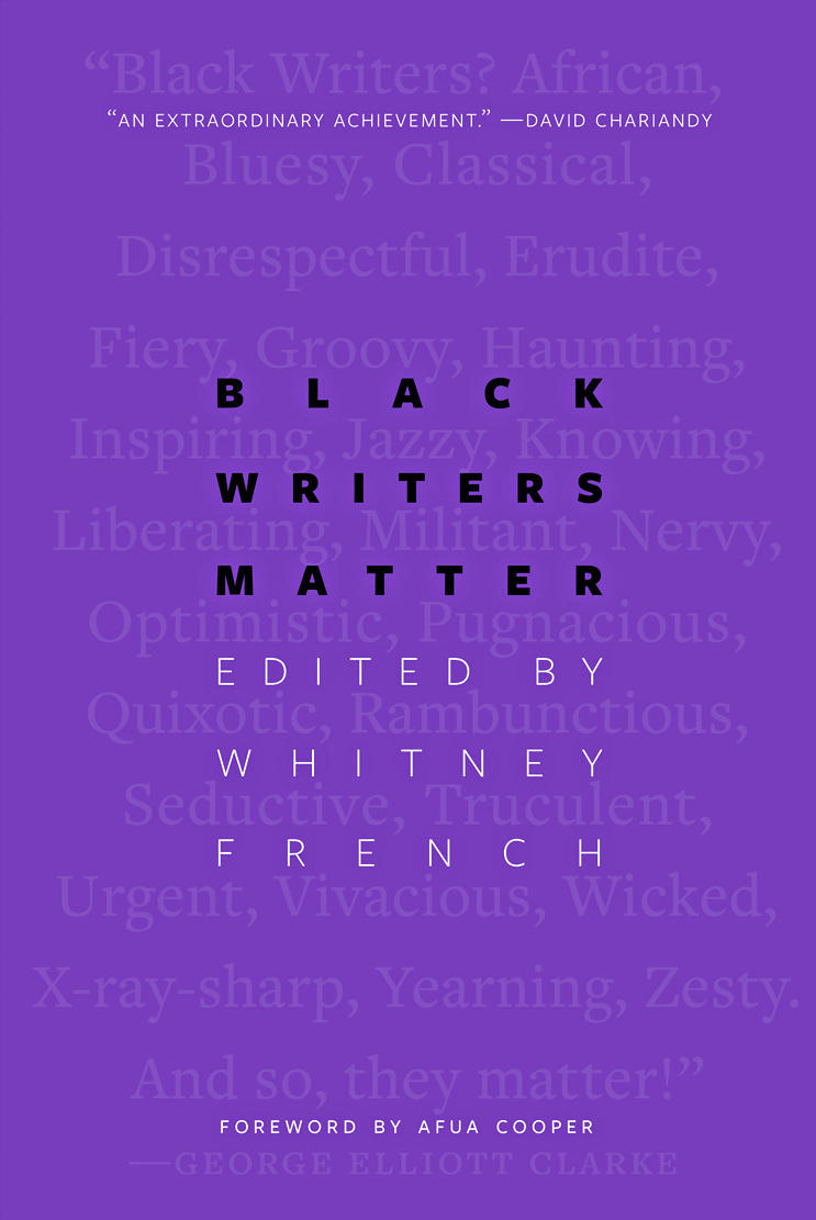 Black Writers Matter: Prose Written From a Point of View by Whitney French (ed.)